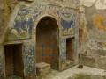 Mozaiken in tuin