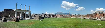 Tour Pompeii Forum met uitzicht op Vesuvius